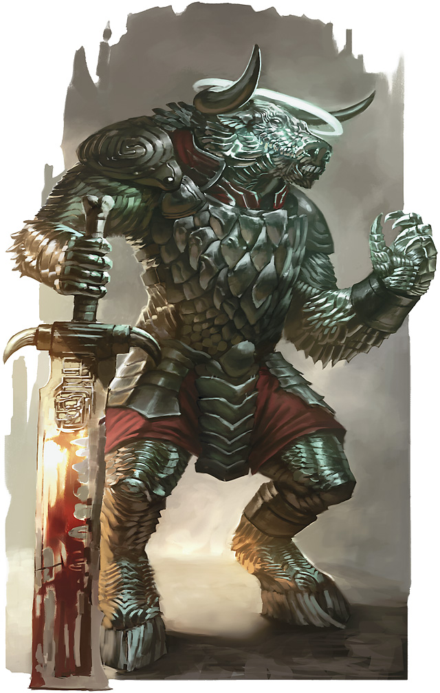 half dragon half human dandd