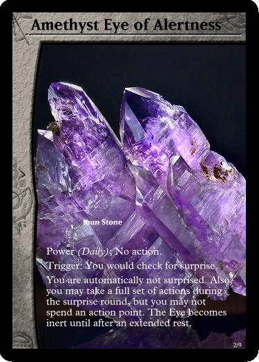 Amethyst Eye of Alertness